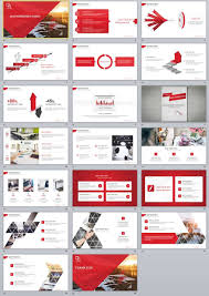 Creating Powerpoint Templates 20 Red Simple Slide Powerpoint Templates Simple