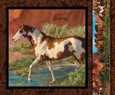 <b>Horse Brown</b> Fabric <b>Panels</b> for sale | eBay