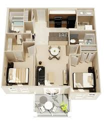 apartment house plans designs. 22-Simple-Two-Bedroom-Floor-Plan Apartment House Plans Designs