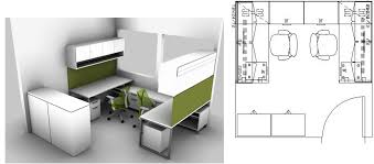 By Patti Bandy On Cubicle And Workstation Layouts Design Pint Mesmerizing Design Small Office Space