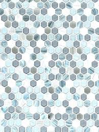 glass hexagon tile blue gray marble mosaic com with regard to design floor tiles hex backsplash