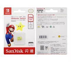Thẻ Nhớ SanDisk Micro SD 256GB 128GB 64GB MicroSDXC UHS-I U3 4K HD Thẻ Nhớ  TF Cho Nintendo Switch Với Bộ Chuyển Đổi