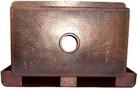 hammered copper kitchen sink: farmhouse hammered copper kitchen sink iv details