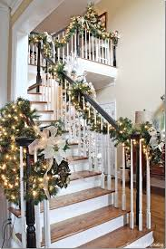 Best 25 Christmas Garland On Stairs Ideas Pinterest Intended For Remodel 7