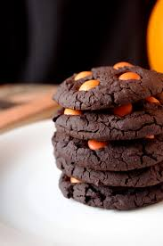 Chewy Chocolate Cookies Soft Chewy Chocolate Halloween Cookies