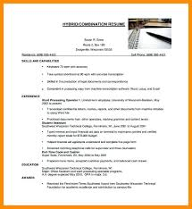 Combination Resume Template Word – Medicina-Bg.info