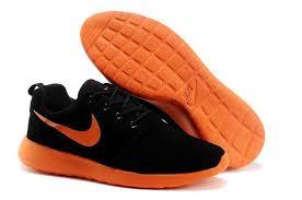 nike running shoes for men orange. order roshe run suede black / orange running shoes mens nike for men
