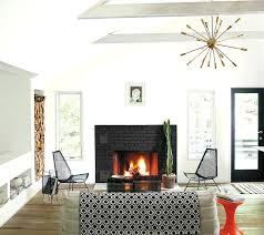 painting a brick fireplace black painted brick in united states painting a brick fireplace