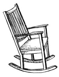 rocking chair drawing. interesting rocking chair drawing a for design