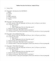 Essay Outline Template Word Easy Writing Glotro Co