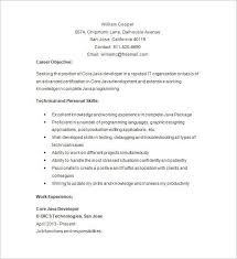 Java Developer Resume Awesome 9810 Entry Level Java Developer Resume Best Sample Adorable