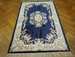 aubusson area rugs blue