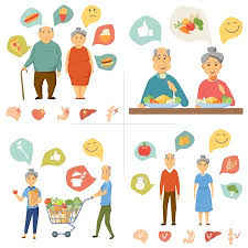 Junk Food Healthy Food Chart Old Couple Healthy Food Infographics Healthy And Junk Food