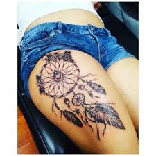 Dream Catcher Tattoo On Thigh Beautiful dream catcher Tattoo ideas Pinterest Beautiful 1