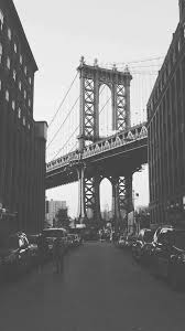 Black And White Nyc Iphone Wallpaper