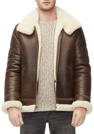 ugg men s auden shearling lined aviator jacket