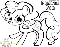 pinkie pie coloring pages with mlp inside page