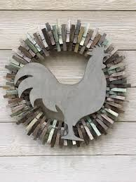 Pin by Patti Porter on My Saves in 2020 | Clothes pin wreath, Everyday  wreath, Clothes pins