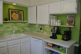 kitchen vintage lime green kitchen cabinet decor ideas with