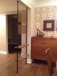remarkable floor to ceiling tension rod room divider floor to in room divider rod contemporary