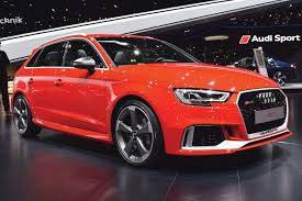 Audi RS3 Sportback & Saloon Colour Guide - Stable Vehicle Contracts