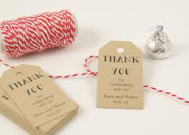 thank you tags for wedding favors favor tags wedding favor tag bridal shower favor tag gift tag
