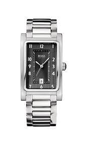 hugo boss 1512214 gents rectangular watch analogue quartz hugo boss 1512214 gents rectangular watch analogue quartz steel strap black amazon co uk watches