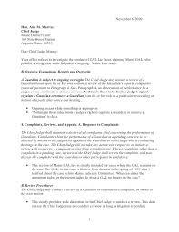 Child Custody Letter To Judge Sample