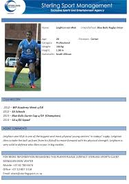 Bunch Ideas Of Sterling Sport Player Profile Focus Leighton Van