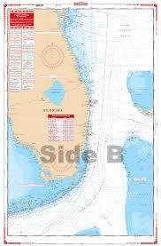 South Florida Maxi Nautical Map Chart