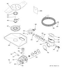 Ge Profile Dishwasher Filter Ge Dishwasher Parts Model Pdwt580v00ss Sears Partsdirect