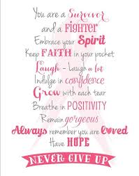 Breast Cancer Survivor Quotes Cool 48 Special Breast Cancer Quotes Slogans And Sayings