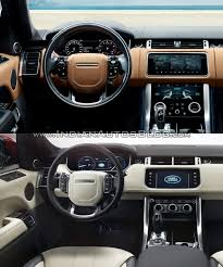 2018 land rover changes. plain land 2018 range rover sport vs 2014 dashboard driver side and land rover changes