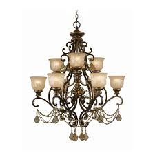 crystorama lighting crystal chandelier with amber glass in bronze umber finish 7509 bu gt