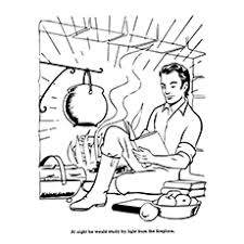 Small Picture Top 10 Abraham Lincoln Coloring Pages For Your Toddler