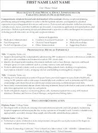 Unit Secretary Resume Sample