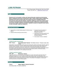 Resume For Teaching Job Musiccityspiritsandcocktail Com