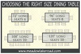 what size table seats 10 size of round table to seat dining table dimensions round dining