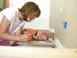 How to Install a Bathroom Countertop   how-tos   DIY