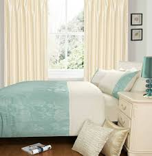 duck egg cream colour stylish duvet cover luxury beautiful fl bedding size super king 8099 p jpg