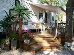 Backyard Deck Design Ideas Simple Awesome RV Deck Design Ideas How To Build A Deck Mobile Home Living