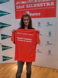 La atleta Belén Barba participará en una charla en Xàtiva ...