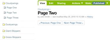 Next/Previous Navigation — Plone Documentation v4.3