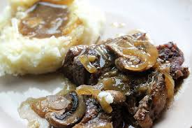 Refrigerate for 8 hours or overnight. Slow Cooker Chuck Steak With Mushrooms And Onion For Two Cully S Kitchen