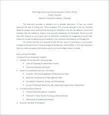Informal Proposal Fascinating Informal Proposal Format 48 Informal Proposal Writing Sample