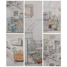 40 Interior Design Drawing Tips Freehand Architecture Fascinating Drawing Interior Design