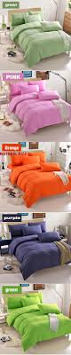 Hot sale Minimalist Pure Style Bedding Sets Bed Sheet and Duvet Quilt Cover  Pillowcase Soft and