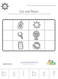 They are ready to practice kids for counting. Summer Beginning Sounds Cut And Paste Worksheet All Kids Network