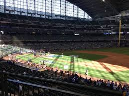 Miller Park Section 211 Row 2 Seat 23 Milwaukee Brewers