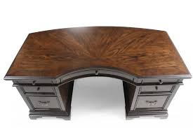 curved office desks. Asp Executive Desk Home Office Furniture Traditional Curved In Molasses Brown Mathis Quot Computer With Hutch Drawers Luxury Chairs Oak Small Bookcase Table Desks